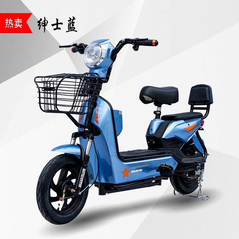 전기자전거 새로운 국가 표준 48V 자전거 자전거 리튬 전지 Yadi 같은 스타일의 스쿠터 성인 장거리 달리기 왕 배터리 자동차 접이식 전기자전거, Gentleman Blue-정품 Tianneng (POP 5428819863)