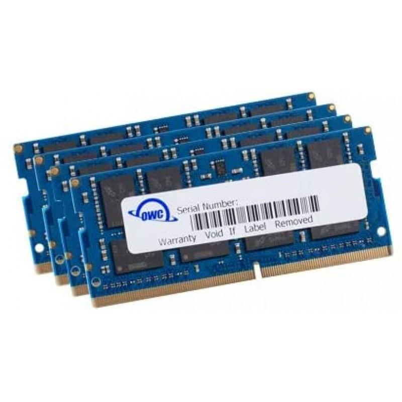 OWC 64GB (4 x 16GB) 2666MHz DDR4 PC4-21300 SO-DIMM 260 핀 메모리 업그레이드 (OWC2666DDR4S64S) 2019-2020 27 인치 iMac, 단일옵션