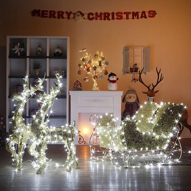 아파트 경관 조명 LED 크리스마스 등 성탄절 조형물