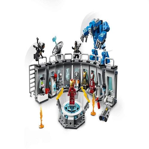 마블 어벤져스 엔드게임 레고 선물 세트 모음 (레고호환), 1.아이언맨 제작기지 노박스