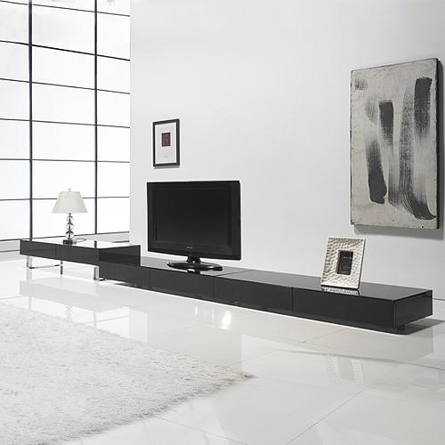 저스트모던 모더니 티비다이 TV다이 낮은 거실장, 원목다리, 화이트