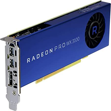 AMD Radeon Pro WX 3100 Graphic Card - 1.22 GHz Core - 4 GB GDDR5 - Half-Length - Single Slot Space, 상세 설명 참조0