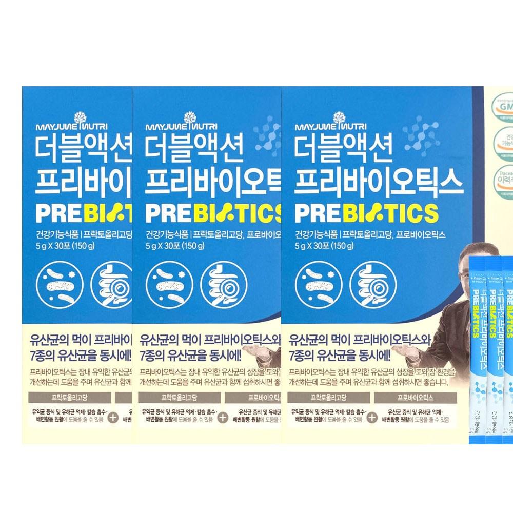 메이준뉴트리 이승남 더블액션 프로바이오틱스 5g x 30포, 3개