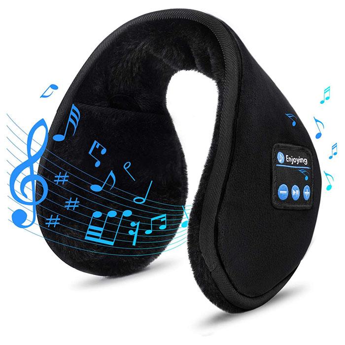블루투스귀마개 귀마개이어폰 방한헤드셋 귀마개스피커 핸즈프리귀마개