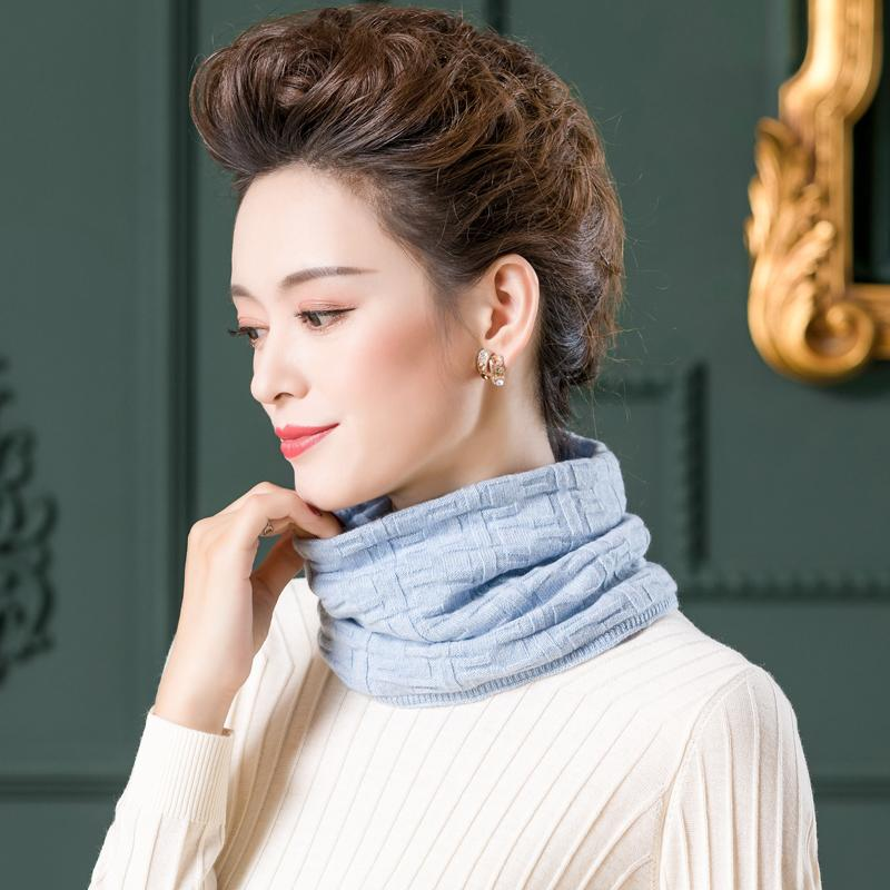 몽골캐시미어 삼각숄 판초 겨울 방한 단색 캐시미어 스카프 여성 캐시미어 경추 스카프