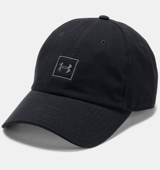 UA 워시드 코튼 남성 캡 모자 1327158-001