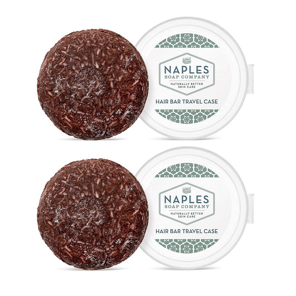 Naples Soap 고체 샴푸 바 모로칸 오일 2.25oz(64g)x3, 1개