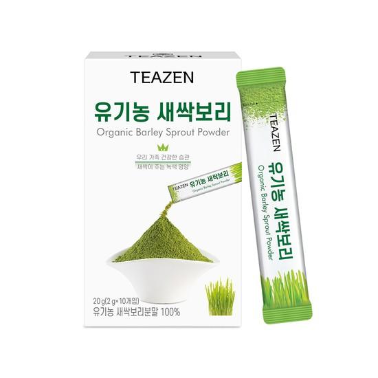 티젠 유기농 새싹보리 분말 10스틱, 상세설명 참조, 없음