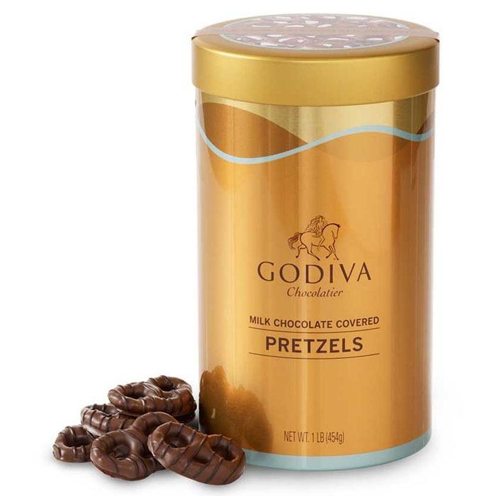 고디바 밀크 초콜릿 프레첼 틴 454g, 단일상품