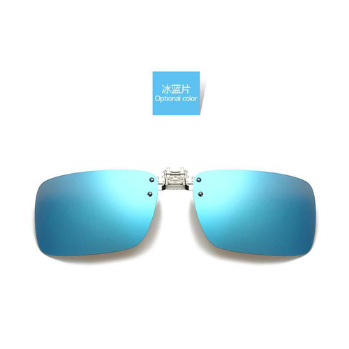 해외배송 편광 렌즈 선글라스 클립 남성 여성 야간 투시경 고글 렌즈