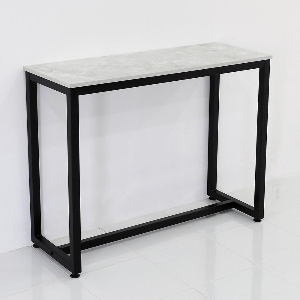 THEJOA [더조아] 홈바테이블 높은테이블 카페 인테리어 아일랜드식탁 홈바테이블 콘솔, 1200 까르니코화이트
