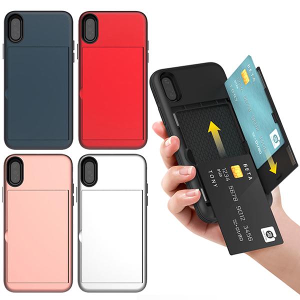 아이폰6 아이폰6S 전용 5가지 색상 심플 자석 카드수납 범퍼 휴대폰 케이스