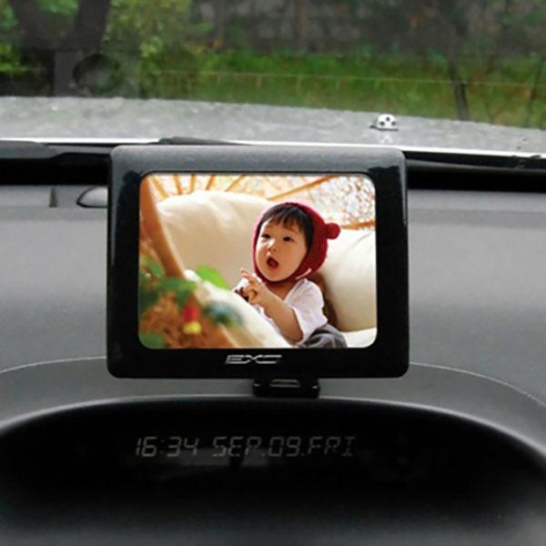 오토컴 EXO 포토프레임(화이트) 차량용액자 포토액자 (POP 1251928400)
