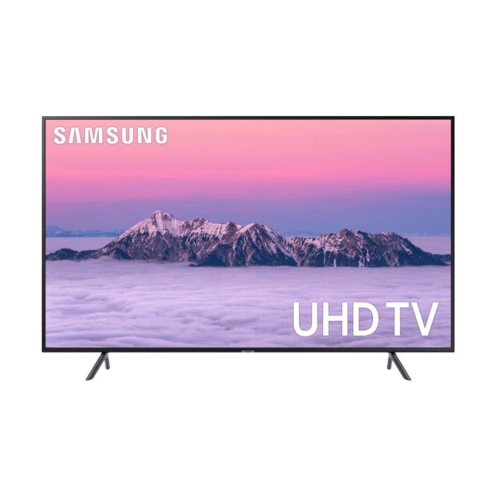 삼성전자 55인치 4K UHD 스마트 TV(UN55RU7100)스탠드 벽걸이 넷플릭스 유튜브 티빙, 대신택배, 벽걸이형