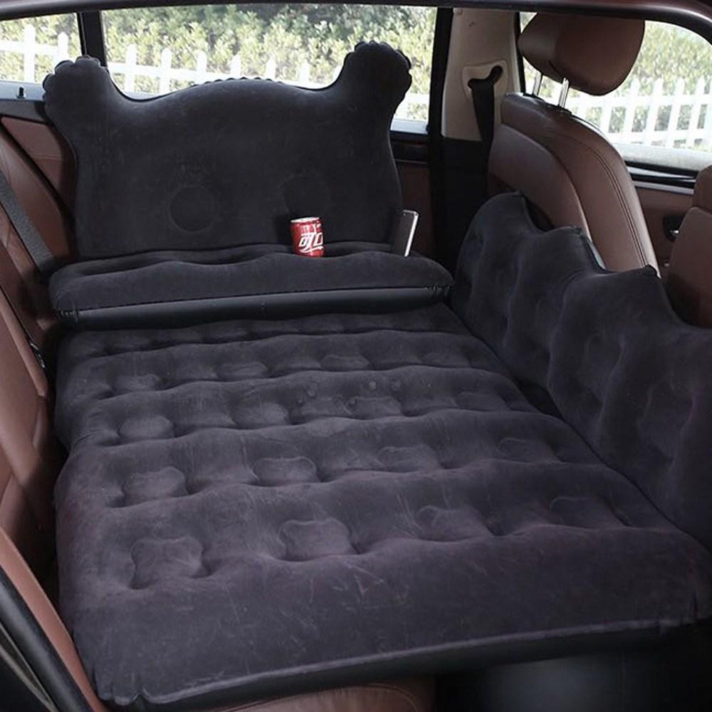 차량용 에어매트 차박 감성캠핑 뒷자석 야외 차박매트 가정 승용차 RV SUV 승합차, 1세트, 진그레이