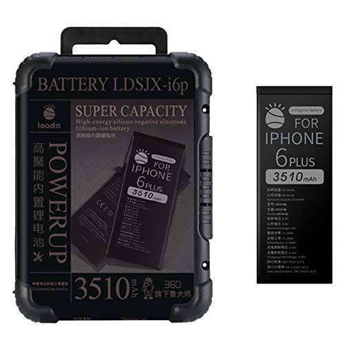 3350 mAh 교체용 배터리 호환가능한 for 아이폰 6S 플러스 슈퍼 용량 파워, 상세내용참조