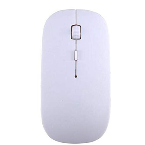 마우스 Detectorcatty Ultra Thin USB Optical Wireless Mouse 2.4G Receiver Super Candy Color Slim Mouse for Desktop Computer PC Laptop, 본문참고