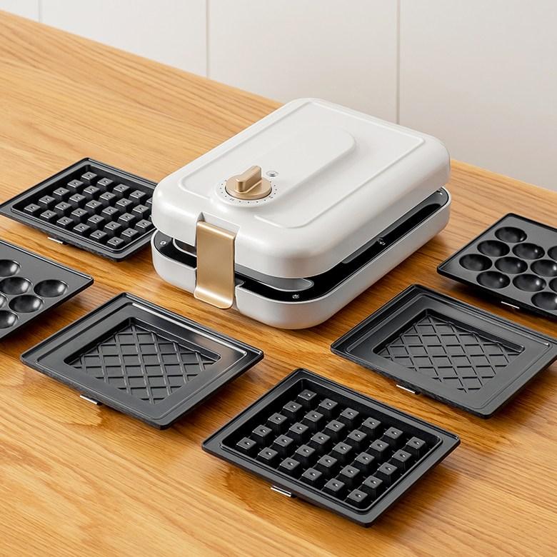 샌드위치기계 와플메이커 토스트메이커, 화이트
