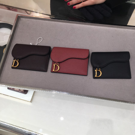 [Dior] 디올 새들 카프스킨 카드 홀더 (3컬러) S5610CWVG_M50H