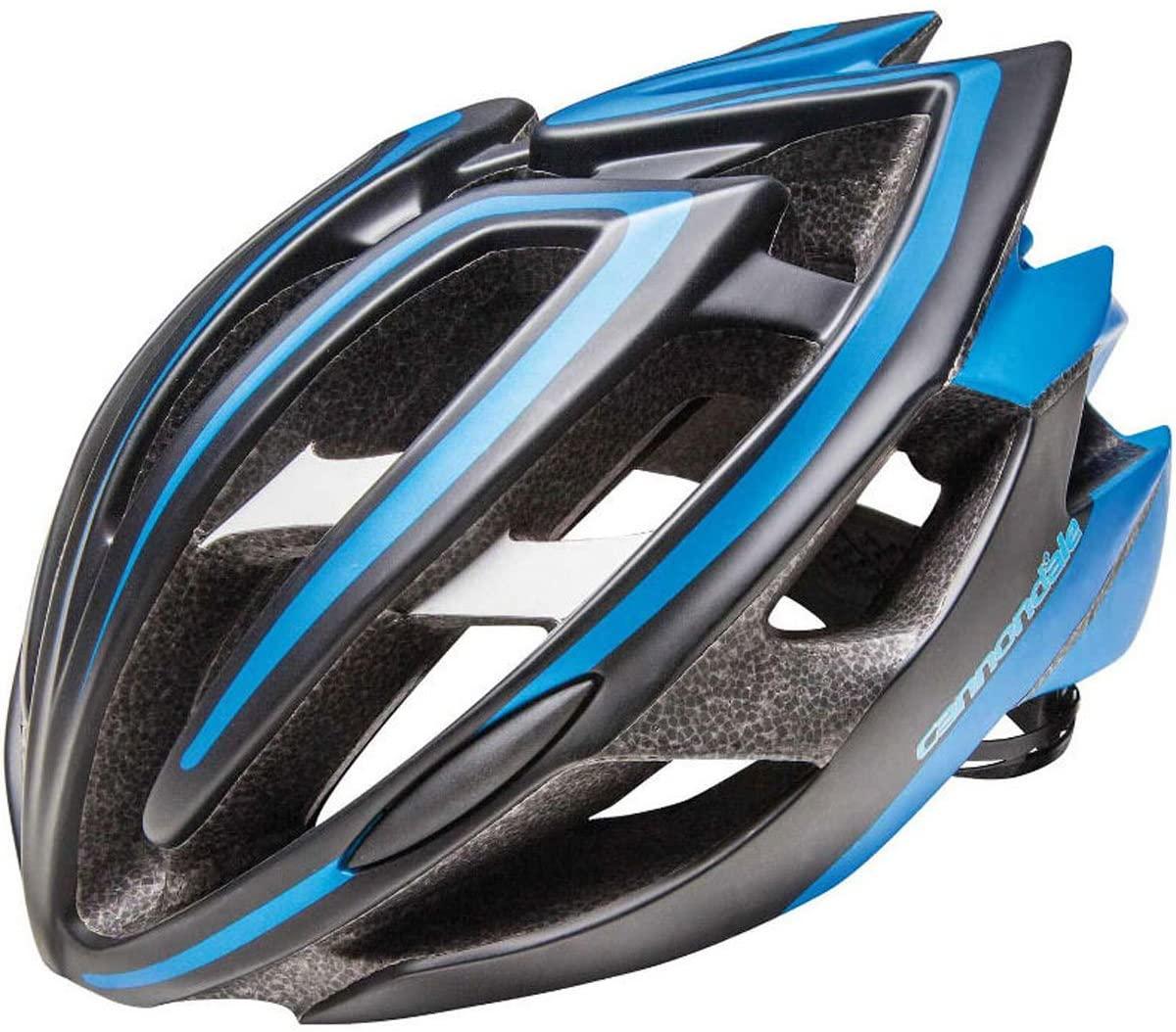 (관부가세포함) Cannondale Teramo Bicycle Helmet-B01CF4BZ3Y, Black/BlueMedium