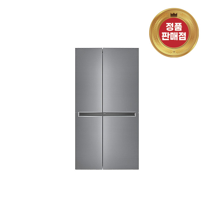 LG DIOS 냉장고 양문형 S833S32 실버, 단품