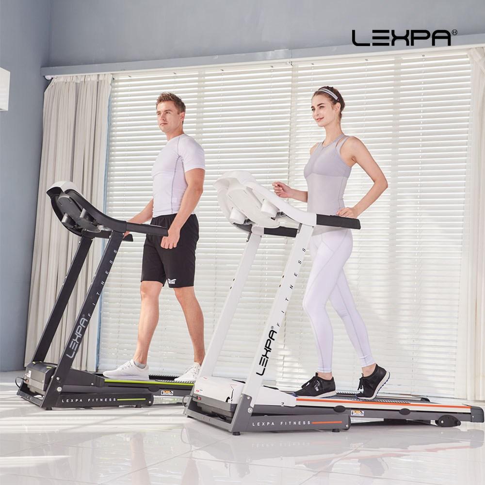 렉스파 가정용런닝머신 러닝머신 층간저소음 트레이드밀 treadmill 전자파인증YA-4001i 런닝머신, 블랙