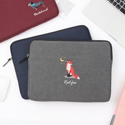 테일러버드 노트북 파우치 13인치 15인치 16인치 귀여운 캐릭터 12종, 레드폭스