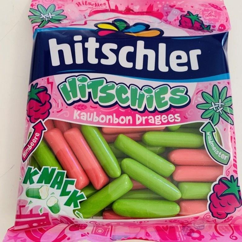 Hitschies 히치스 수수깡젤리 캔디 라즈베리 맛 - 165g, 1개