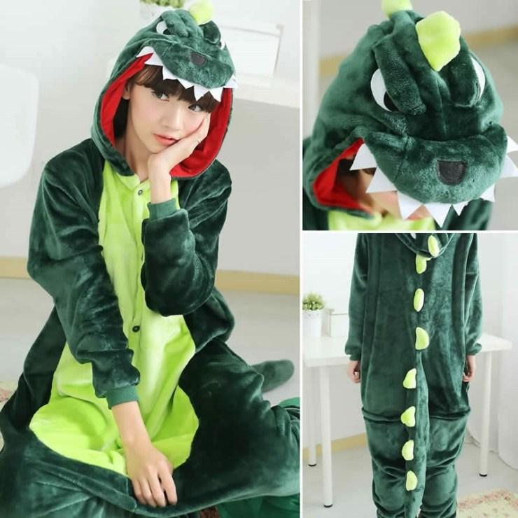 유니엔젤 공룡 동물잠옷