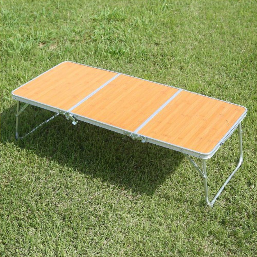 캠핑용품 캠핑장 아웃도어 등산 펜션 감성 좌식 미니 3폴딩 테이블 + CampD1F