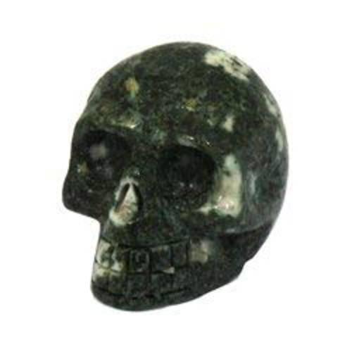 Preseli Stonehenge Bluestone Crystal Skull - 4.5cm, 상세내용참조