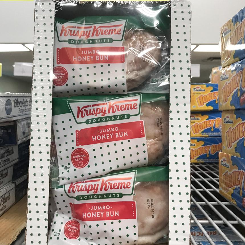 크리스피크림 도넛 점보 허니번 9개입 1.3kg