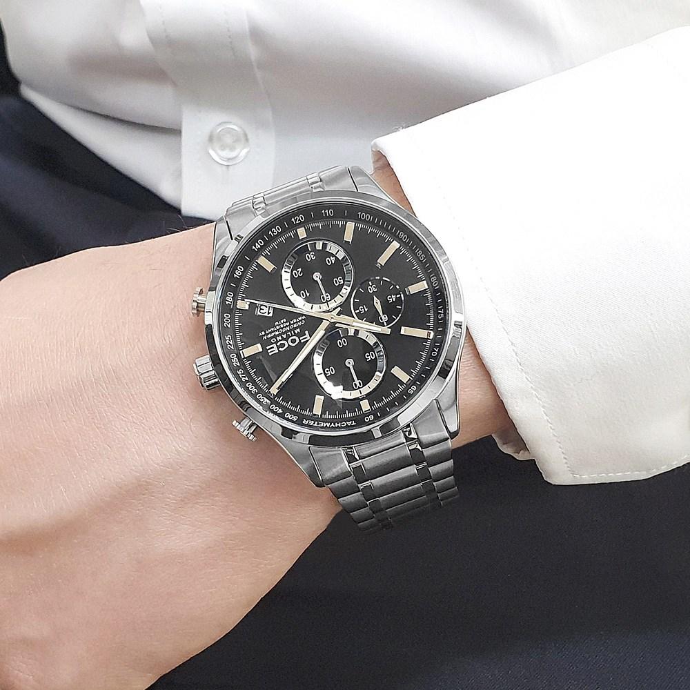 포체 프리미엄 남자 메탈 손목시계 FM7528