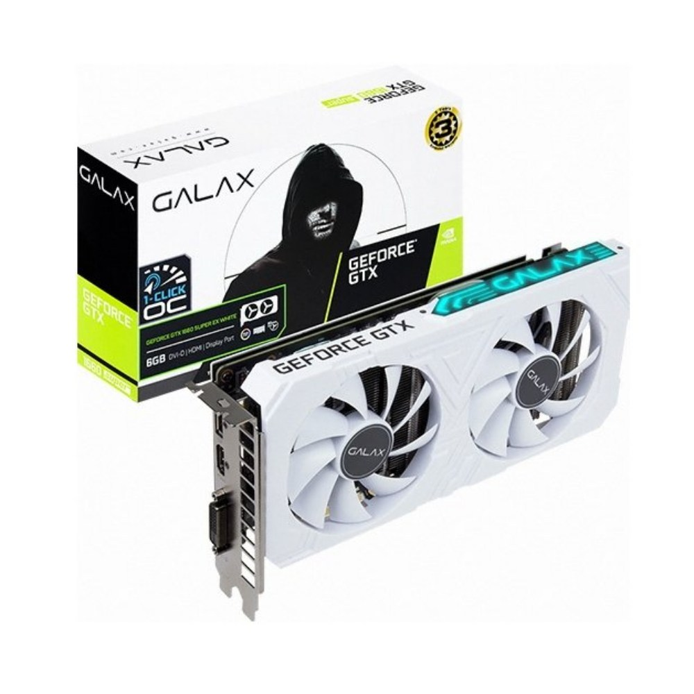 갤럭시 지포스 GTX1660 SUPER EX WHITE OC D6 6GB(이어폰 행사중), GTX1660 SUPER EX WHITE OC D6 6GB