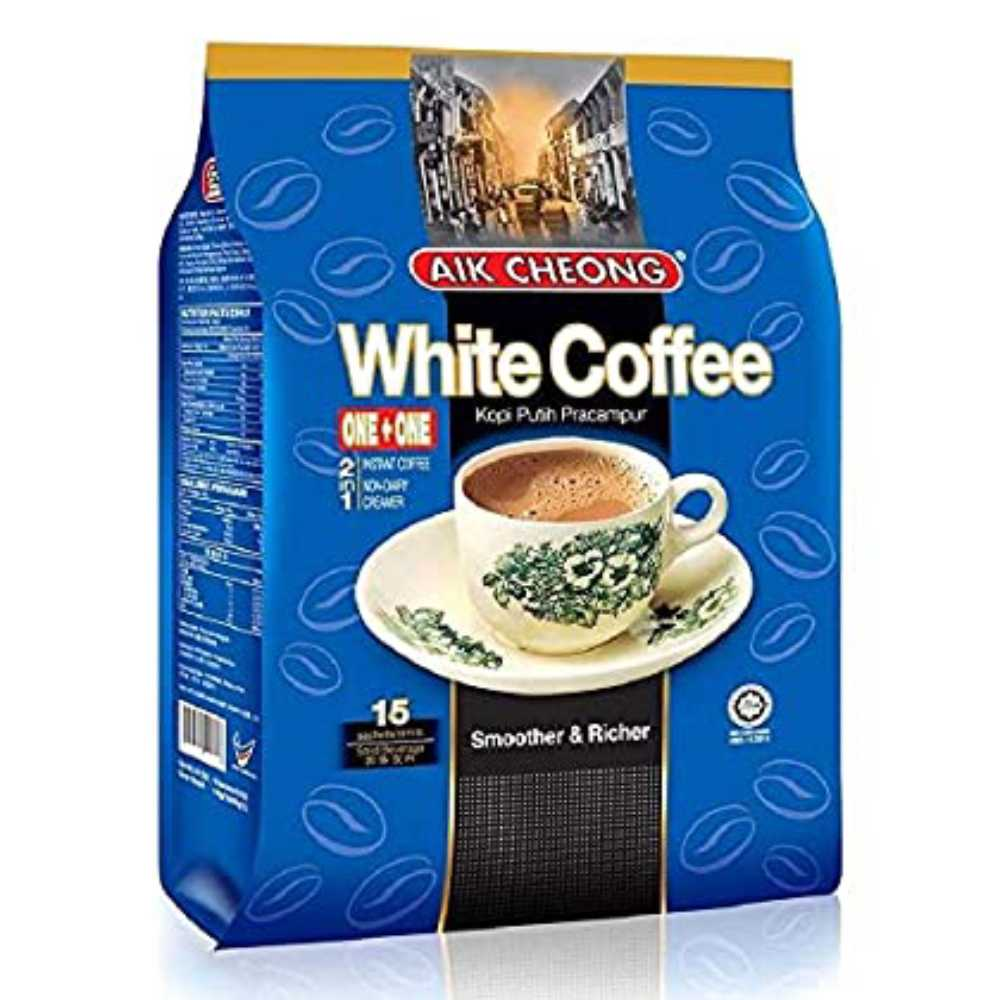 Aik Cheong 2 in 1 White Coffee Tarik (30g x 15 sachets)
