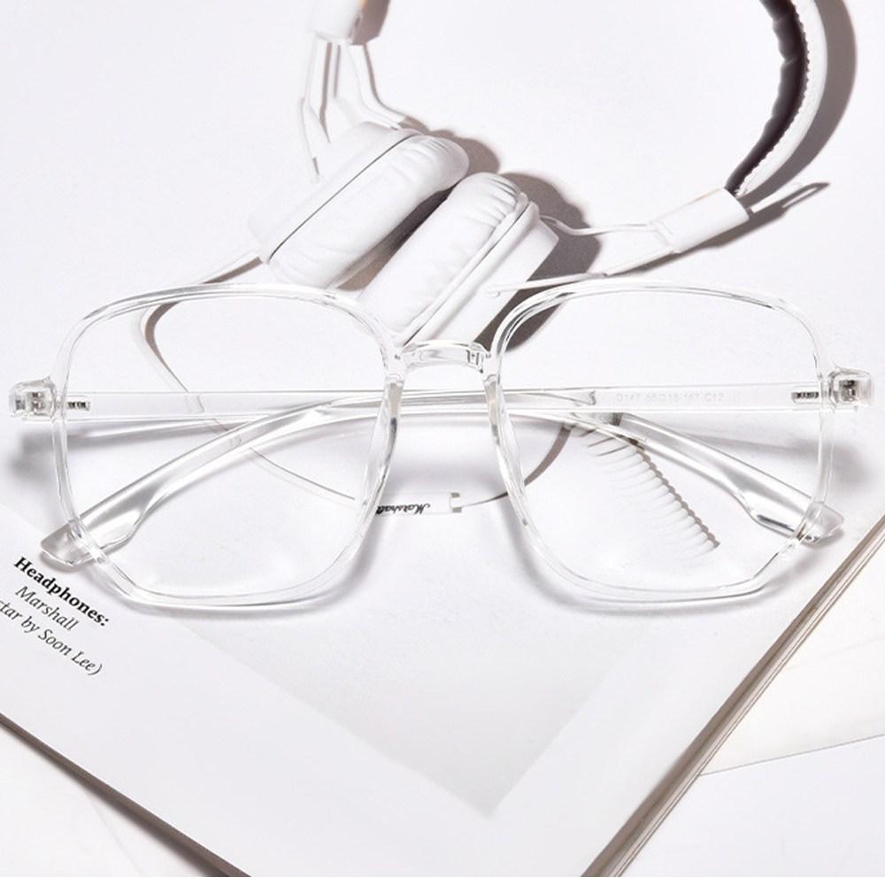 에스컴바인 유행하는 투명 안경테 모음 투명안경 뿔테