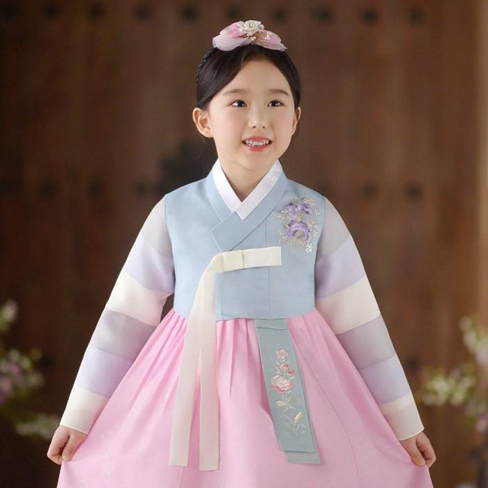 레쁘띠 GR643-연청하 여아한복 아동한복