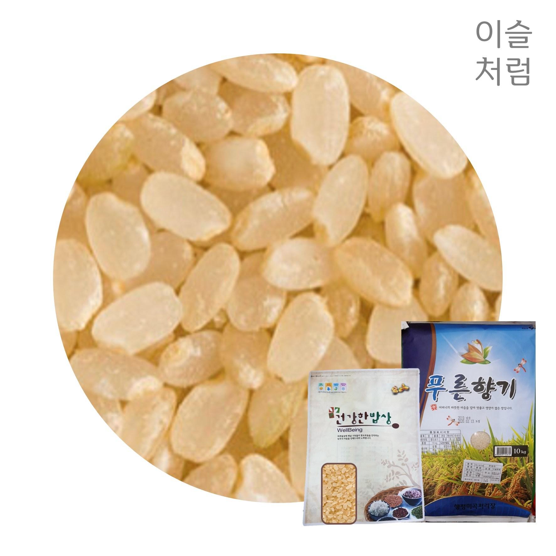 한정수량 국산 현미닮은 노란밥쌀 오분도미 10kg(보통) 당일발송 혈당조절 저당 잡곡밥, 1개, 10kg