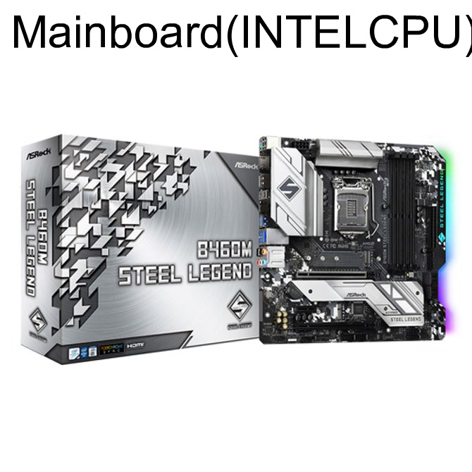 Mainboard (INTEL CPU) B460M 스틸레전드 에즈윈