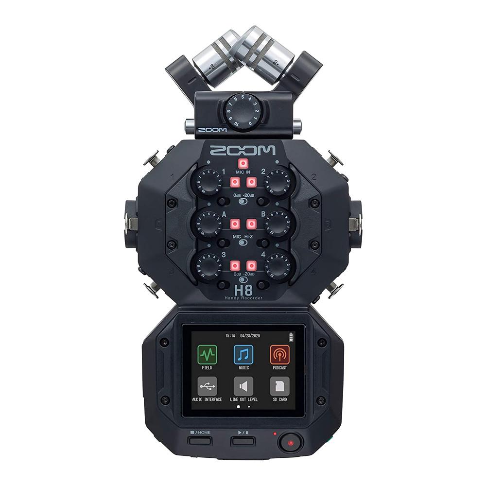 ZOOM H8 핸디 레코더 전문가 녹음기