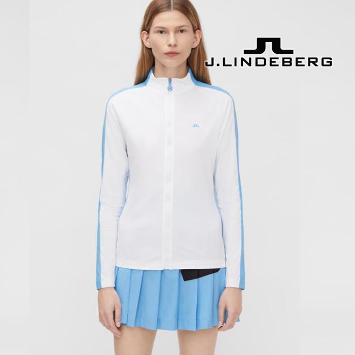제이린드버그 골프웨어 여성 마리 미드레이어 스웨트 3컬러, XS, 02. 핑크