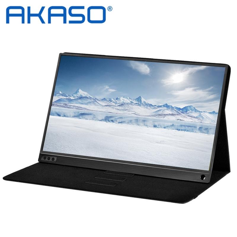아카소 AKaso P15A 39.6cm 1080P IPS 휴대용 모니터
