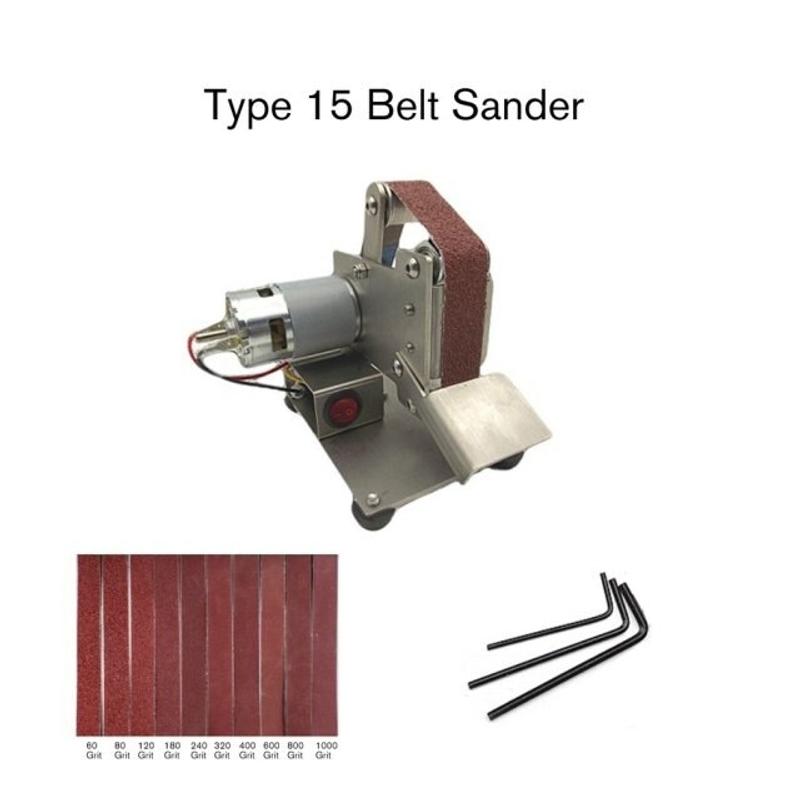 2021년 샌딩기계 다기능 전문 그라인더 미니 휴대용 전기 벨트 샌더 DIY 연마 그라인딩 머신 커터 에지 숫돌 프리미엄, 협력사, 검정 (POP 5440940775)