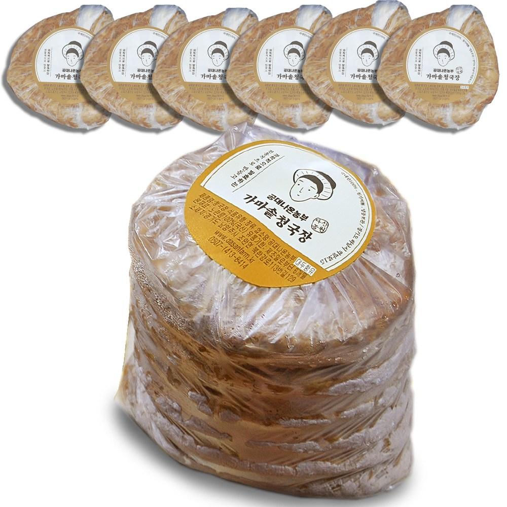 국산 청국장 공대나온농부 냄새적은 발효 찌개 1kg 12인분, 170g, 6팩