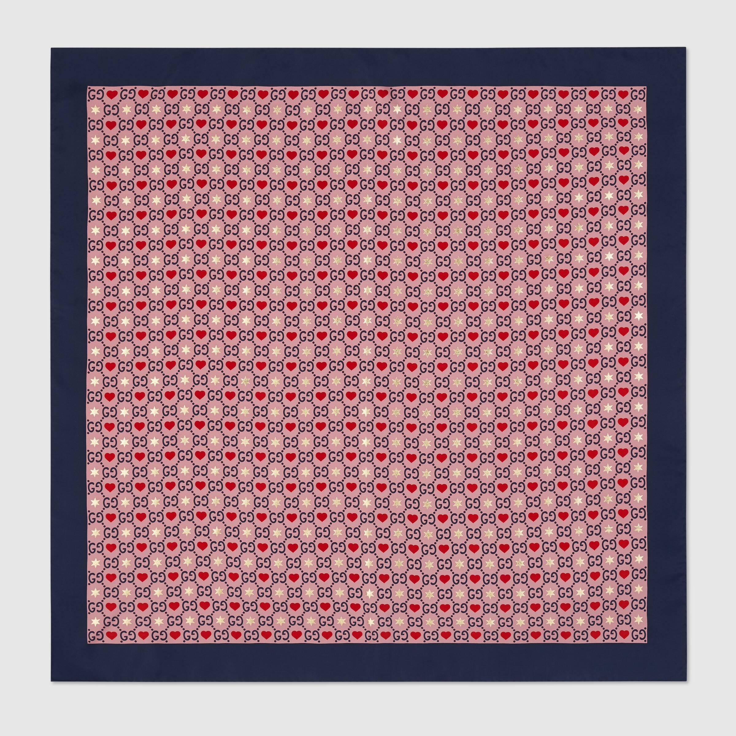 Gucci Silk scarf 609895 3G001 5968