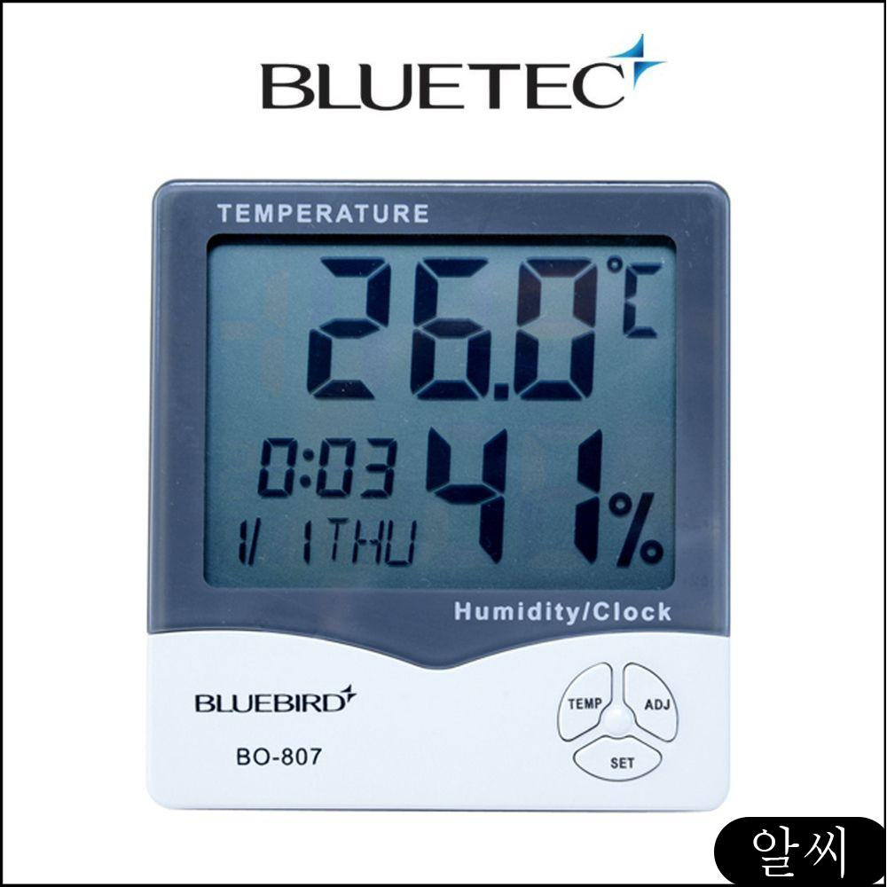 MS 온습도계 디지털온습도계 블루텍 BO 디지털 온도계 4006792 807, RCMK 1