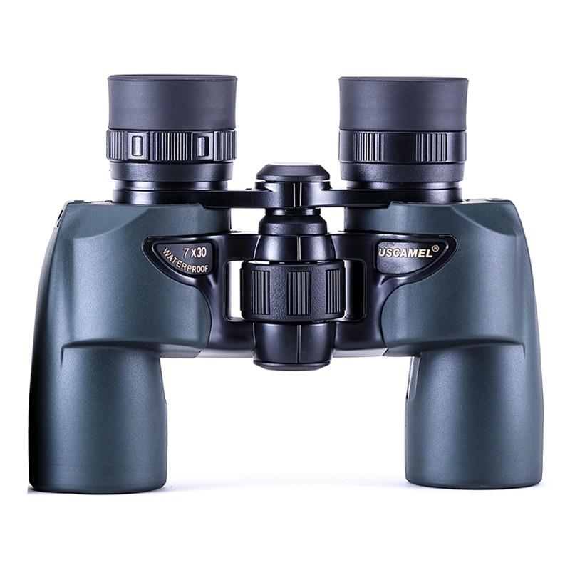 USCAMEL 쌍안경 7x30 전문 사냥 새 천체컬망원경 고배율 천체 단망경 망원경, UW076A