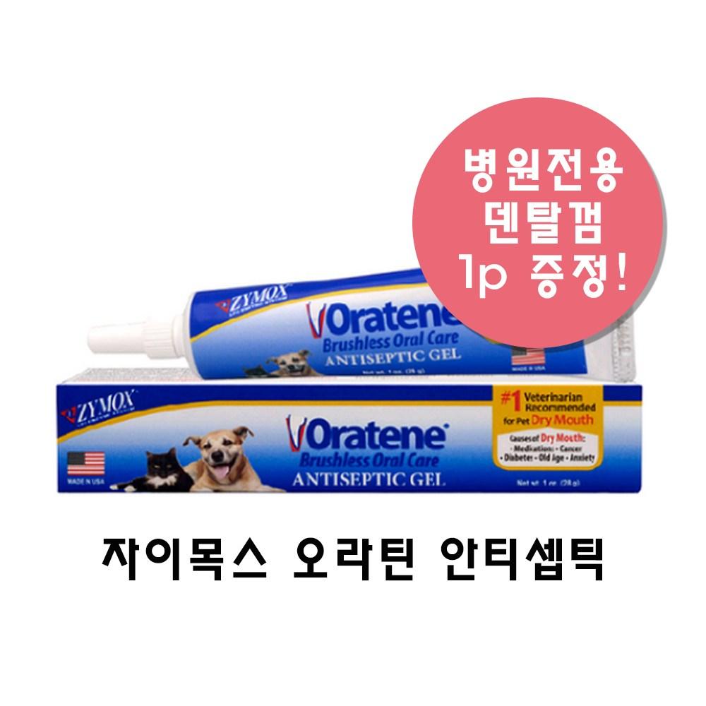 오라틴 안티셉틱 오럴 젤 28g +덴탈껌 증정, 1개, 23g