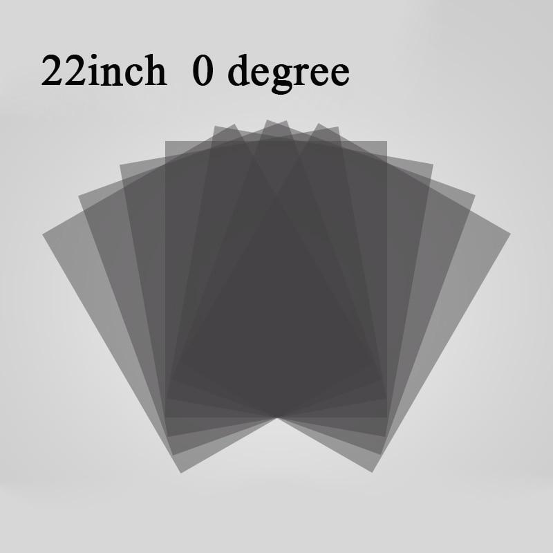 새로운 22inch 22 인치 04590도 광택 LED LCD 편광판 LCD 용 편광 필름 LED IPS 스크린 TV LCD 모니터 용 슈퍼 클리어, 0도