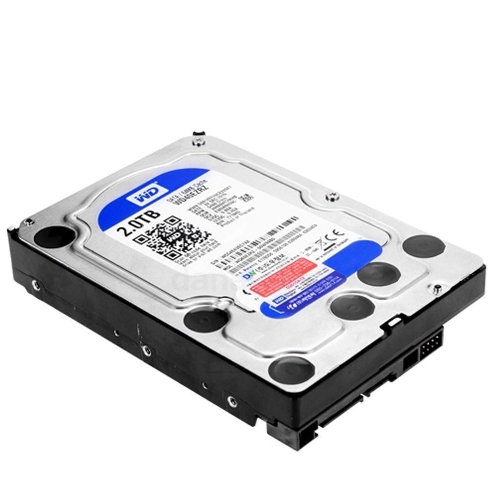 웨스턴디지털 2TB 하드 디스크 3.5 HDD 저장 메모리 (POP 5271304610)